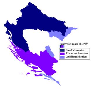 Banovina of Croatia - Image: Creation of Banovina