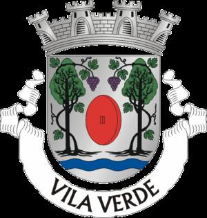 Vila Verde - Image: Crest of Vila Verde municipality (Portugal)