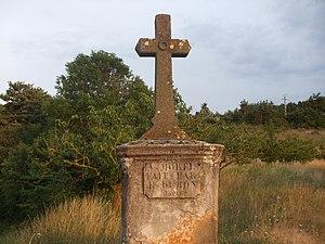Arlebosc - Image: Croix de Tincey (Arlebosc)