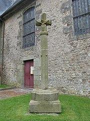 croix de l'ancien cimetière de Champsecret