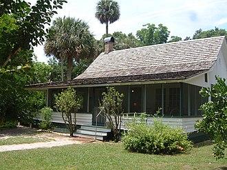 Marjorie Kinnan Rawlings - Rawlings' home at Marjorie Kinnan Rawlings Historic State Park in Cross Creek, Florida