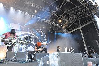 Crossfaith Japanese metal band