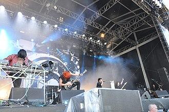 Crossfaith - Crossfaith performing at Rock am Ring in 2014