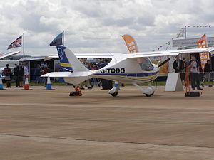 Flight Design CT - CTSW on display at RIAT 2007