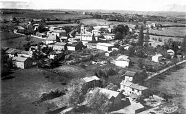 An aerial view of Culin in 1900
