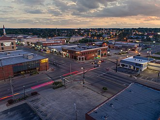 Cullman, Alabama - Image: Cullman aerial real estate photography (21 of 21).1