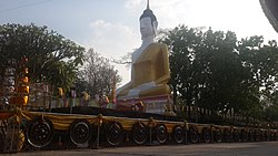 Cultural heritage monuments at Kusuntararam Temple.jpg