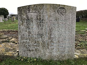 Cuthbert Alport - The grave of Lord and Lady Alport in the churchyard of St John the Baptist, Layer de la Haye, Essex.