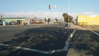 Cutting Boulevard - Cutting Boulevard and Marina Way