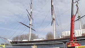 Cutty Sark mast works II.JPG