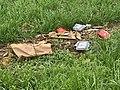 Déchets du McDonalds dans un champ de Saint-Maurice-de-Beynost.jpg