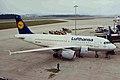 D-AILU 1 A319-114 Luftrhansa ZRH 20MAR99 (5800203297).jpg