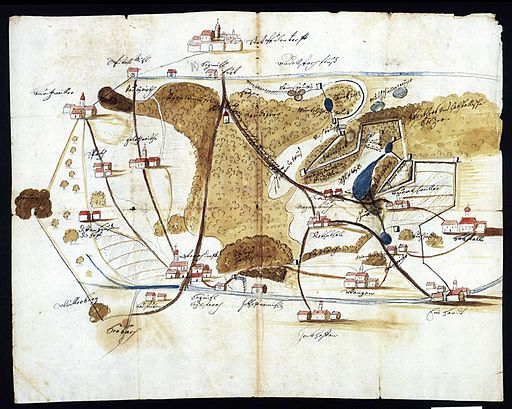 D-BW-SIG - Beschreibung des ostrachischen Bezirks, 1697