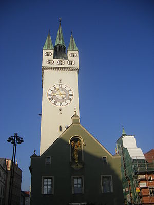 Straubing - Gothic City Tower  (Stadtturm)