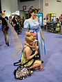 D23 Expo 2011 - Tinkerbell and Wendy make a new friend (6075801508).jpg