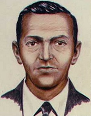 Facial composite - Composite sketch of a hijacker known only by the pseudonym D. B. Cooper.