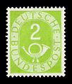 DBP 1951 123 Posthorn.jpg