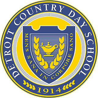Detroit Country Day School Private school in Beverly Hills, Michigan, U.S.