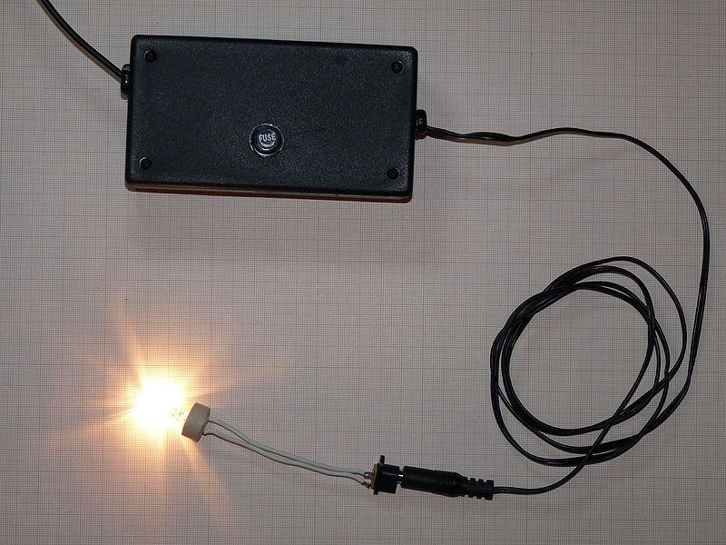 File:DIY power supply tested.JPG