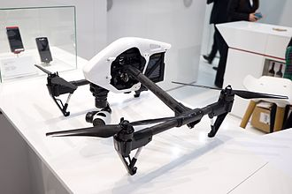 DJI (company) - DJI Inspire (悟) 1 at Mobile World Congress 2015 Barcelona
