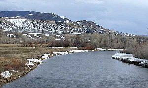 Blue River (Colorado) - The Blue River near Kremmling, Colorado.