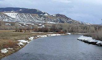 Blue River (Colorado) - The Blue River near Kremmling, Colorado