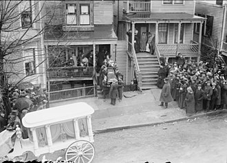 Rosenthal murder case - Dago Frank funeral after his execution