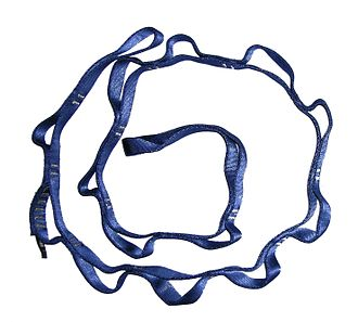 Rock-climbing equipment - A daisy chain