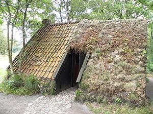 Ellert en Brammert (museum) - Image: Dakbedekking (4869078072)