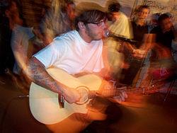 3aaacfcfa33 Green performing at Edge102.1 Radio Studios in July 2005