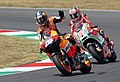 Dani Pedrosa and Nicky Hayden 2012 Mugello.jpg