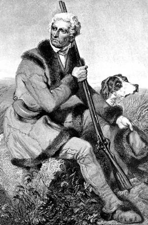 Longhunter - Image: Daniel Boone engraving