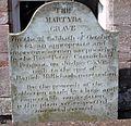 Daniel McMichael - Martyr's Grave.JPG
