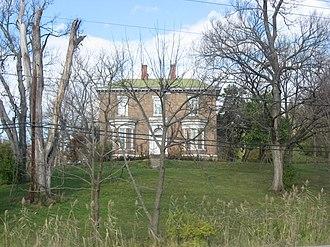 Daniel S. Major House - Daniel S. Major House, November 2012