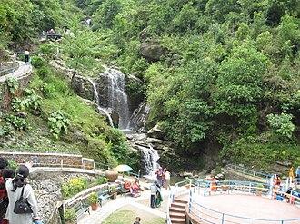 Rock Garden, Darjeeling - Chunnu Summer Falls in the garden