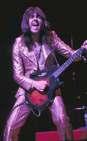 Dave Peverett - Peverett performing in 1973