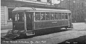 Davenport Road - Davenport Road streetcar.