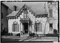 David P. Forrest House, 39 Front Street, Schenectady, Schenectady County, NY HABS NY,47-SCHE,24-1.tif