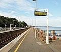Dawlish railway station, South Devon main line, view towards Dawlish Warren.jpg