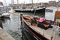 De JOLIE BRISE voor de wal bij Sail Amsterdam 2010 (04).JPG