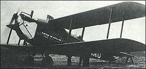 De Havilland DH.18 - DH.18A G-EARO of Instone Air Lines