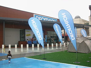 Decathlon Group - Entrance of İstanbul store