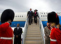 Defense.gov News Photo 100614-D-7203C-001 - Deputy Secretary of Defense William J. Lynn III and his wife Mary Murphy arrive at the Ottawa Macdonald-Cartier International airport in Ottawa.jpg