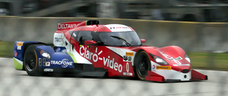 DeltaWing - The Deltawing DWC13 racing in 2015.