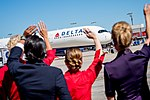 Delta showcases new A350 to global media (37108360843).jpg