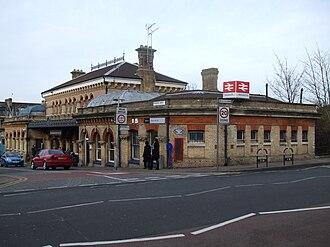 Denmark Hill railway station - Denmark Hill in 2009