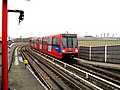 Deptford Bridge Station, Docklands Light Railway - geograph.org.uk - 1672337.jpg