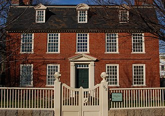 Salem Maritime National Historic Site - The Derby House