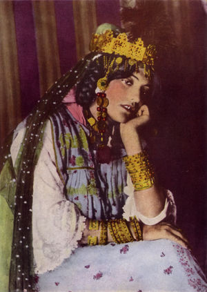 The Songs of Bilitis - A dancer in Biskra