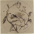 Design for a Plate Decorated with a Bird and Plant Motifs MET 60.620.48.jpg
